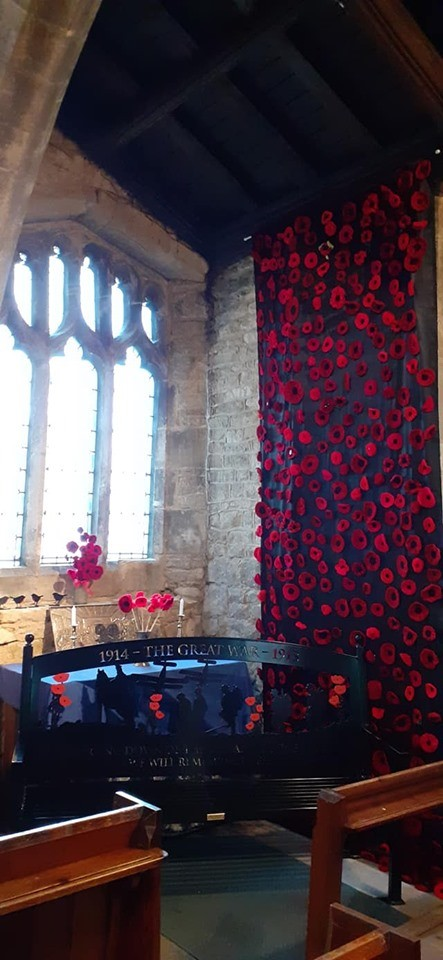 The Weeping Poppy Wall display is launched!