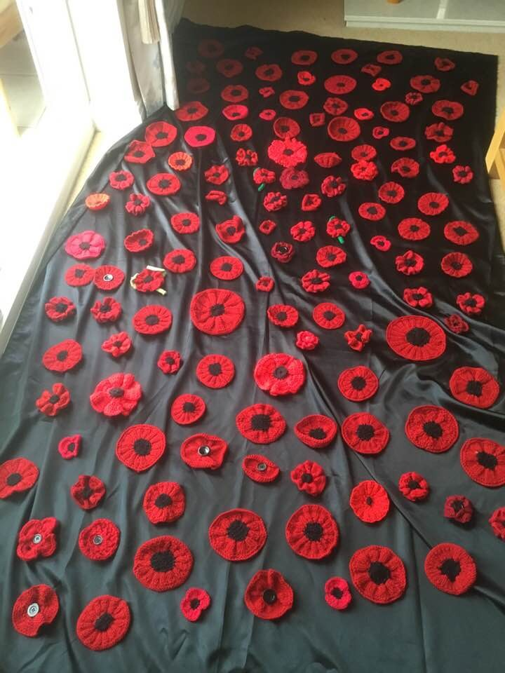 Poppy Wall inspired by Jackie Taylor